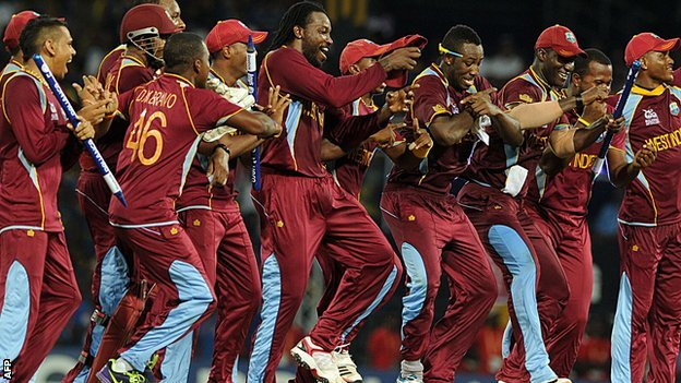 No one celebrates quite like the West Indies