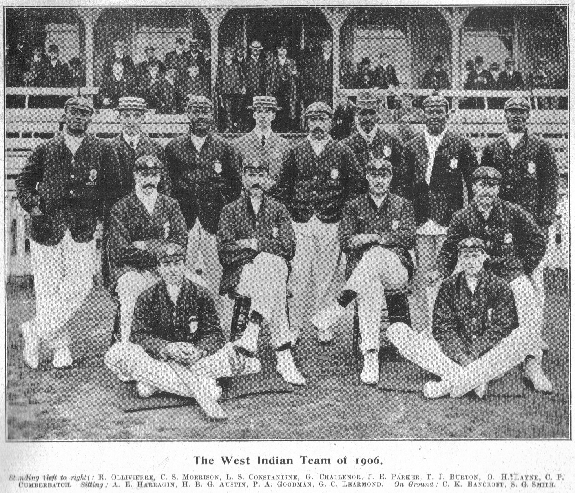 1906 West Indies Team