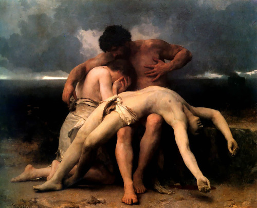 The First Mourning – William-Adolphe Bouguereau