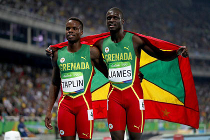Bralon Taplin and Kirani James Share Final Glory